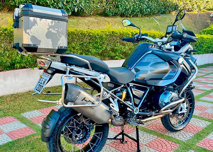 BMW R 1200 GS Adventure Triple Black full