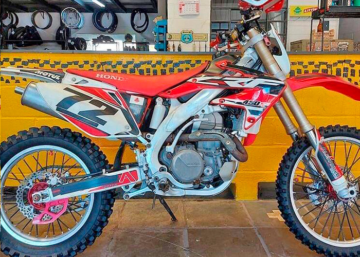 HONDA CRF 450 X full